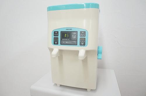 高濃度電解次亜塩素酸水機